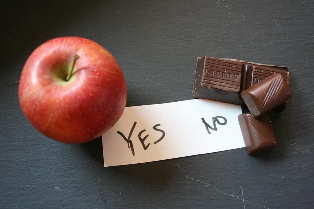 apple or chocolate - guide to good health