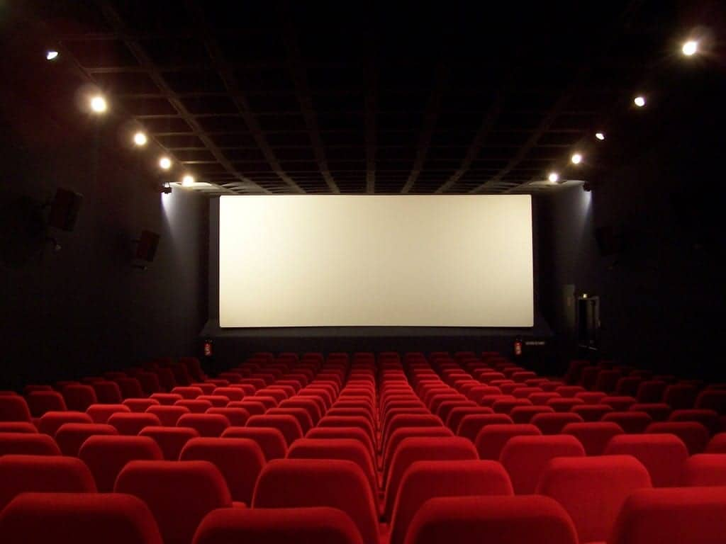 relax and see a movie
