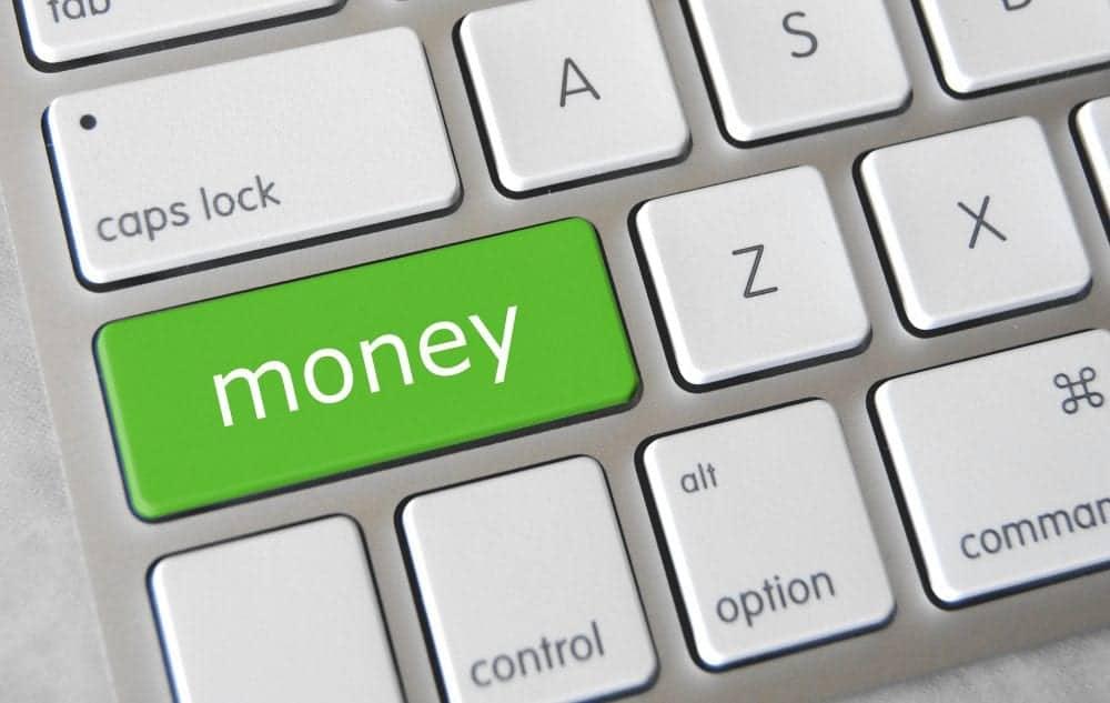 Money Keyboard Button