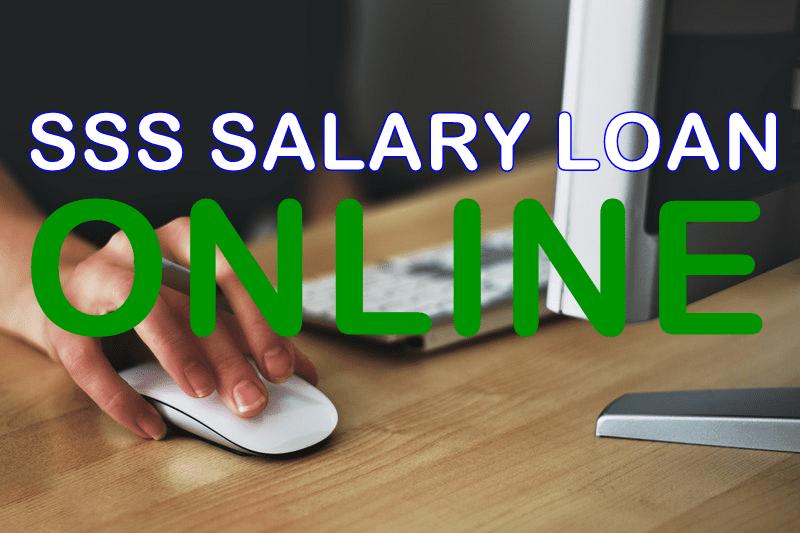Apply SSS Salary Loan Online