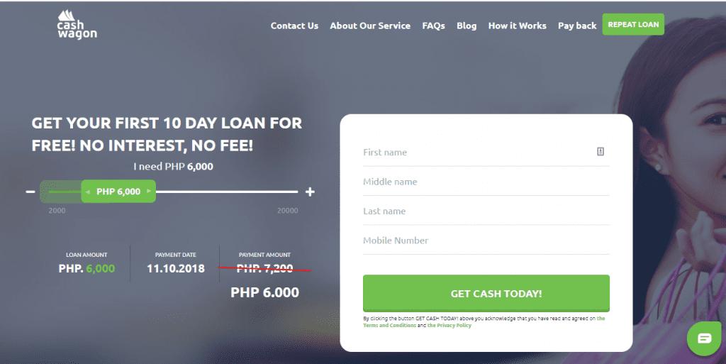 CashWagon quick online loans Philippines