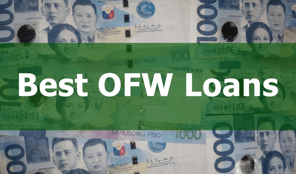 Best OFW Loans - Low Interest